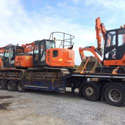2016 ZX135US-5B On its way to New home in Limerick City & 