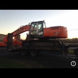 HITACHI ZX210LC-3 BEEN DELIVERED TO A LOCAL CUSTOMER IN CO.CLARE