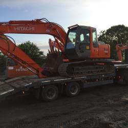 HITACHI ZX130LCN OUT FOR DELIVERY TO CO.GALWAY