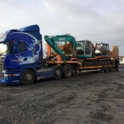 A KOBELCO SK135 &