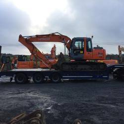 HITACHI ZX130LCN OUT FOR DELIVERY TO CO.ROSCOMMON