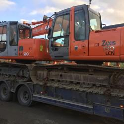 HITACHI EX120-5 DELIVERED TO ENNIS & ZX130LCN DELIVERED TO GORT GALWAY