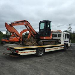 HITACHI ZX50U OUT FOR DELIVERY TO CO.CORK