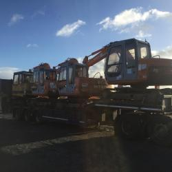 A FULL LOAD OF HITACHI EX60-5