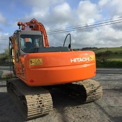 Hitachi ZX130LCN Sold Sold